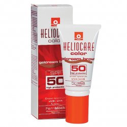 Heliocare Αντιηλιακό Τζελ-Κρέμα SPF50 Brown