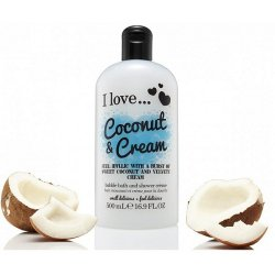 I love...Bubble Bath & Shower Crème Coconut & Cream 500ml