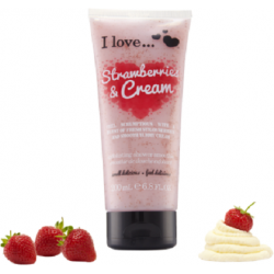 I love...Exfoliating Shower Smoothie Strawberries & Cream 200ml