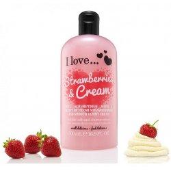 I love...Bubble Bath & Shower Crème Strawberries & Cream 500ml