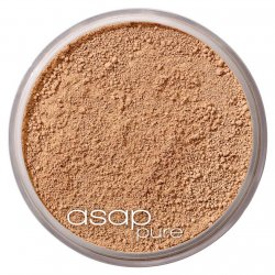 asap loose mineral Foundation - three (medium tan)
