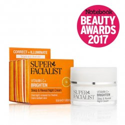 Super Facialist vitamin C sleep & reveal night cream 50ml