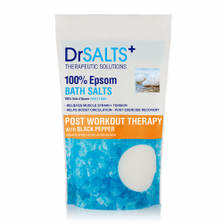 Dr Salts Epsom Post Workout Therapy with Black Pepper 1 kg