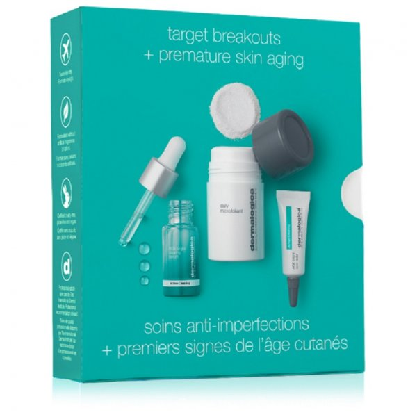 Dermalogica Active Clearing clear and brighten kit 3τμχ