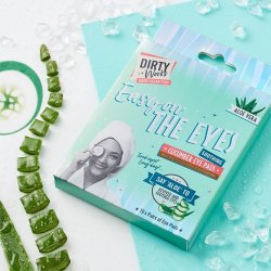 Dirty Works Easy on the Eyes Soothing Cucumber Eye Pads 10 τεμ