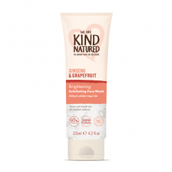 Kind Natured Brightening Ginseng and Grapefruit Exfoliating Face Wash 125ml