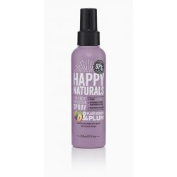 Happy Naturals Plant Keratin & Plum 2-in-1 Heat Protection Spray 150ml