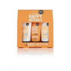 Happy Naturals Argan Oil & Sweet Orange Mini Collection 3Χ50ml
