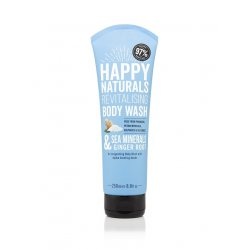 Happy Naturals Sea Minerals & Ginger Root Revitalising Body Wash 250ml