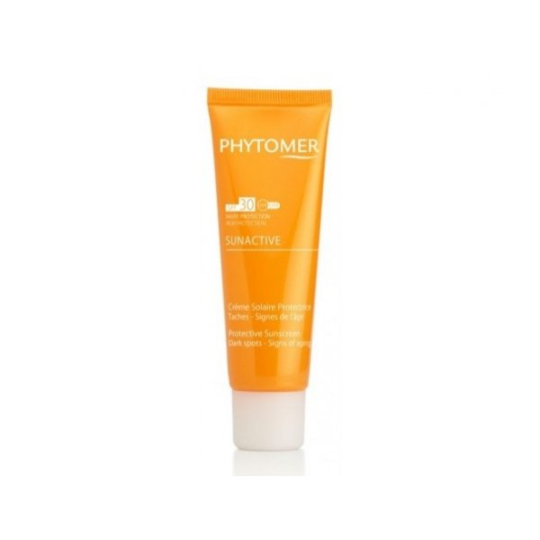 PHYTOMER Sunactive Creme Solaire Protectrice Aches - Signes DE L'Âge SPF30 50ml