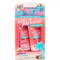 Dirty Works Bubble in Paradise 2Χ125ml