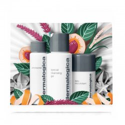 Dermalogica cleanse and glow to go (PreCleanse 30ml ,Special Cleansing Gel 50ml,Daily Microfoliant 13g)
