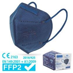 Basis & Basis S.A. Μάσκα FFP2 NR  Υψηλής Προστασίας Προσώπου Μπλε 5 Layers 1τμχ