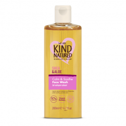 Kind Natured Calming Shea and Aloe Cleansing Face Wash 200ml