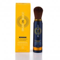BRUSH ON BLOCK® Tan Tinted Mineral Powder Sunscreen SPF 30 3.4,gr