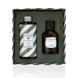 Blue Scents Gift Set  Olive Oil & Green Pepper 2 τεμ