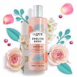 I Love Scents English Rose Bodywash 360ml